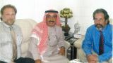 Volker Kranich und Seine Königliche Hoheit Sheikh Maktoum Hasher Al Maktoum